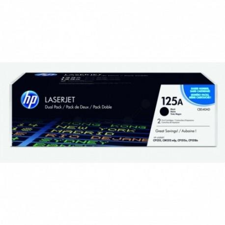 HP kassett No.125A Dual Pack Must kassett (CB540AD)