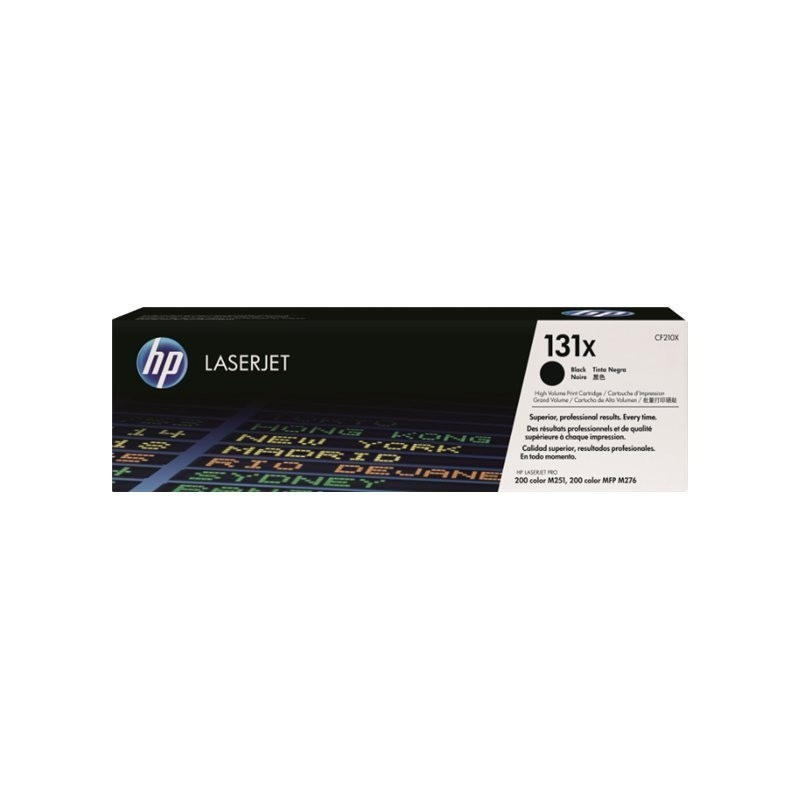 HP kassett No.131X Must (CF210X)