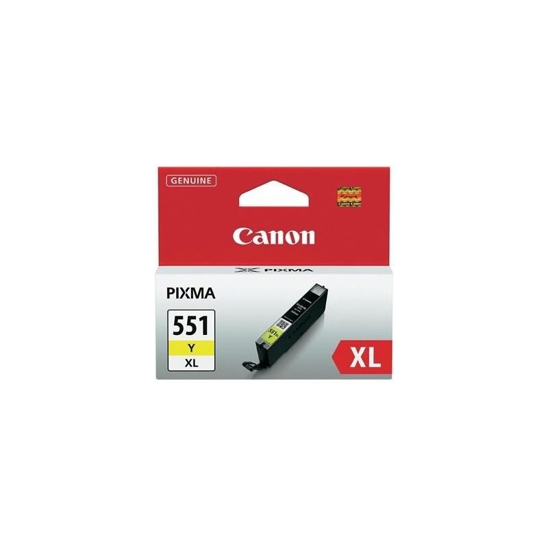 Canon Ink CLI-551XL Kollane (6446B001)