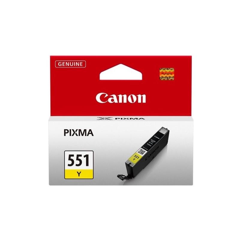 Canon Ink CLI-551 Kollane (6511B001)