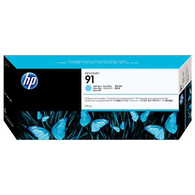 HP Ink No.91 Light Sinine (C9470A)