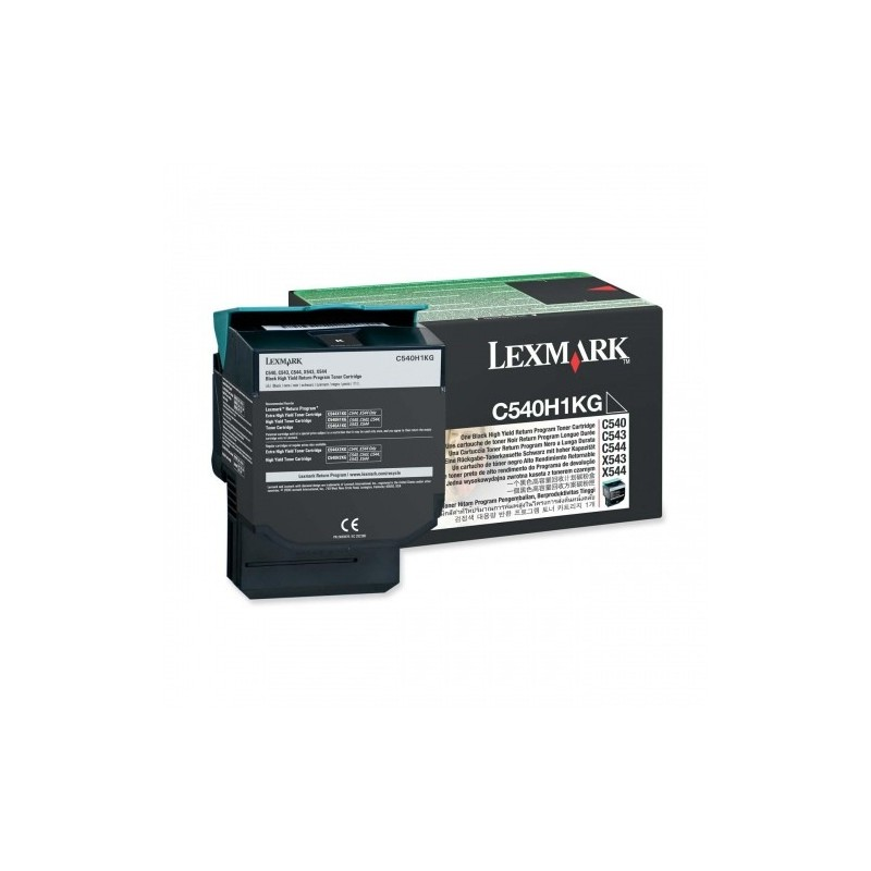 Lexmark kassett Must (C540H1KG) Return