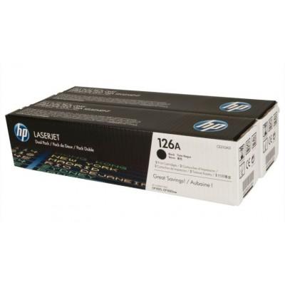 Hewlett-Packard 126A Bk Dual Pack (CE310AD)
