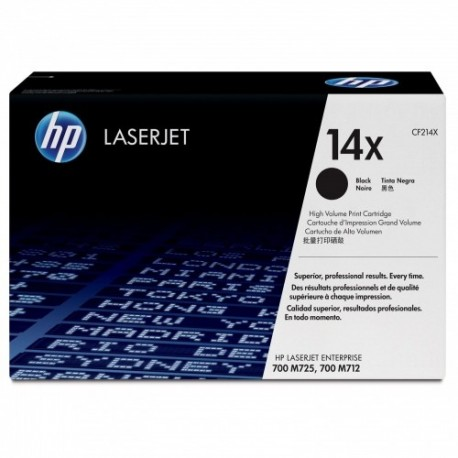 HP kassett No.14X Must (CF214X)