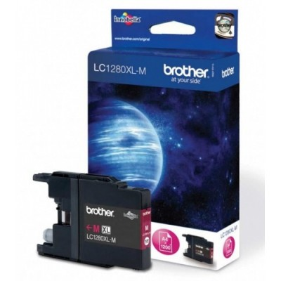 Brother Ink LC 1280XL Roosa 1,2k (LC1280XLM)