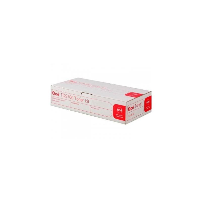 Océ tooner Kit TDS700 1070066265 (1060047449) (1060099404)(6362B001) incl. 2 tooner Bottles + 1 Contai