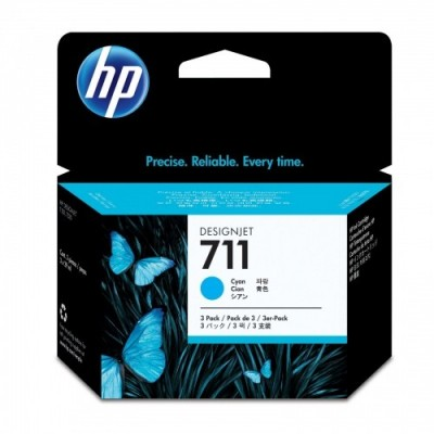 HP Ink No.711 Sinine tri-pack (CZ134A)