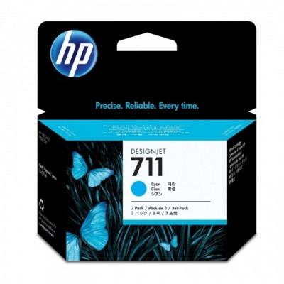HP Ink No.711 Sinine tri-pack (CZ134A)