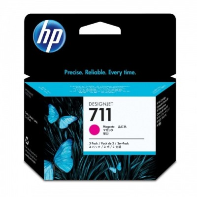 HP Ink No.711 Roosa (CZ131A)