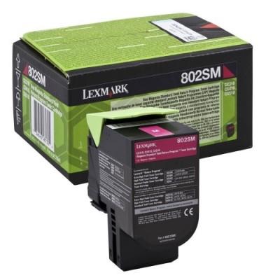 Lexmark kassett 802SM0 Roosa (80C2SM0)