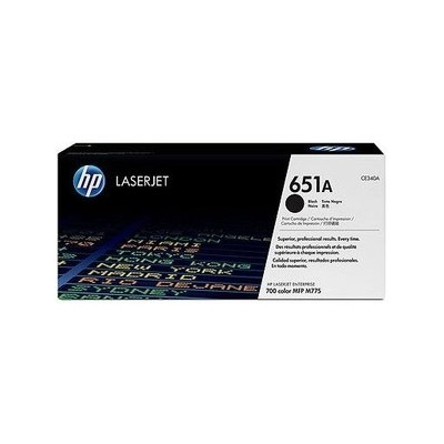 HP kassett No.651 Must (CE340A)