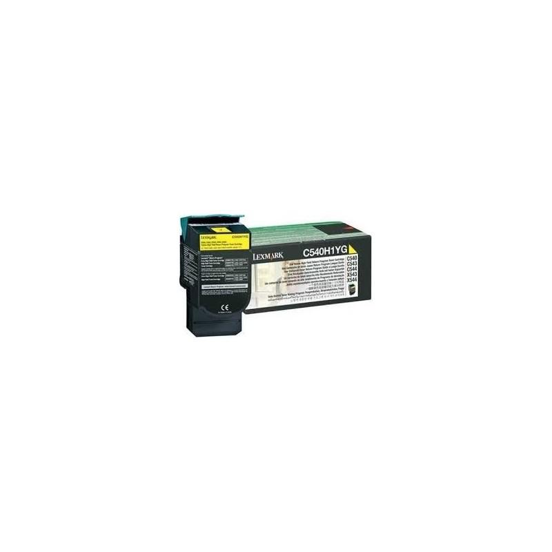 Lexmark kassett Kollane (C540H1YG) Return