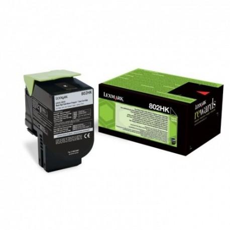 Lexmark kassett 802HK Must (80C2HK0) Return