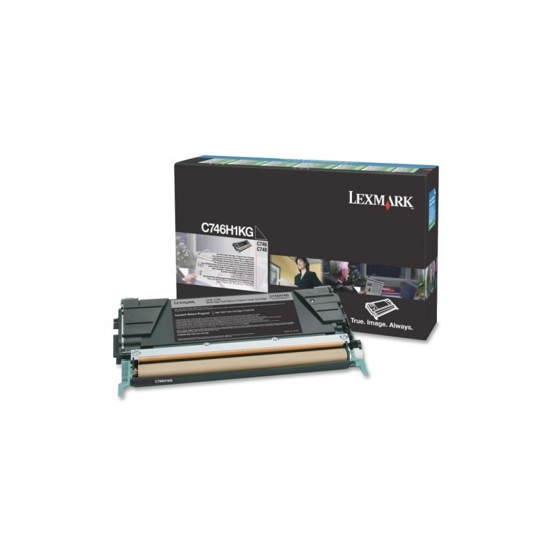 Lexmark kassett Must (C746H3KG) Corporate