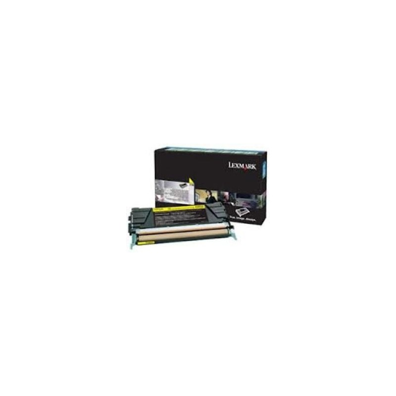 Lexmark kassett Kollane (C746A3YG) Corporate