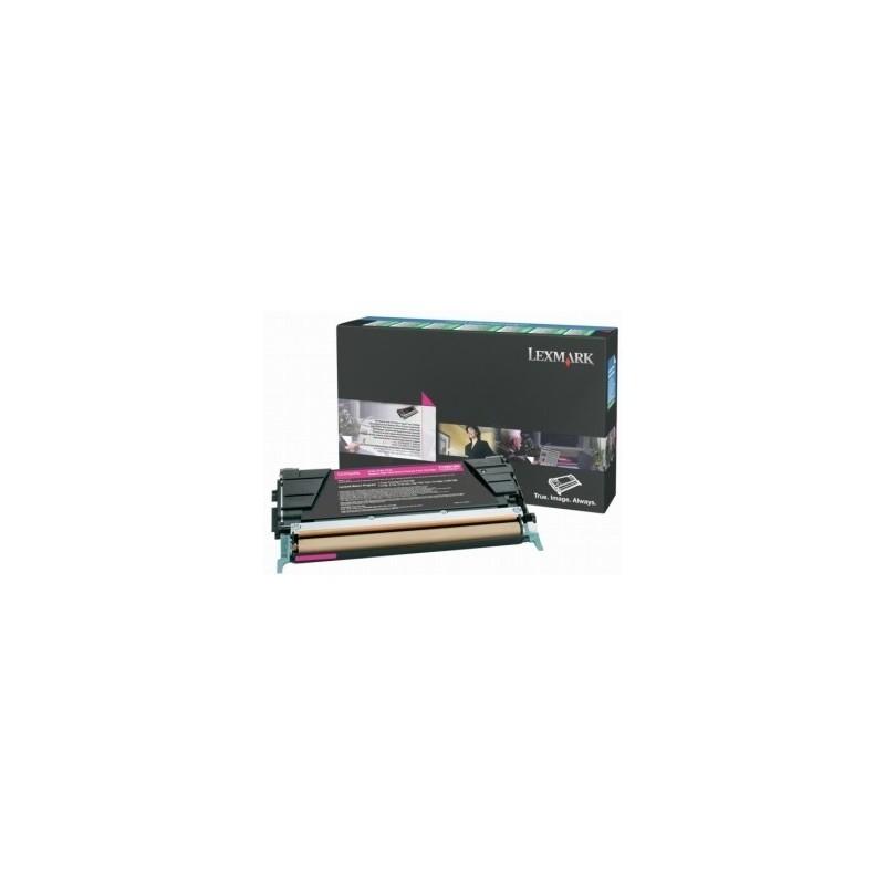 Lexmark kassett Roosa (C746A3MG) Corporate