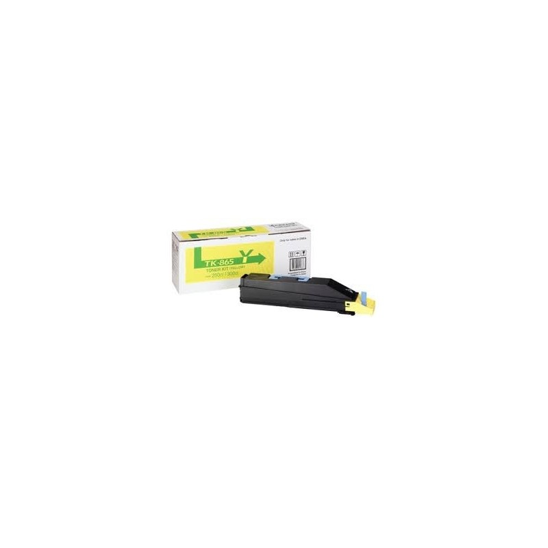 Kyocera kassett TK-865 Kollane (1T02JZAEU0)