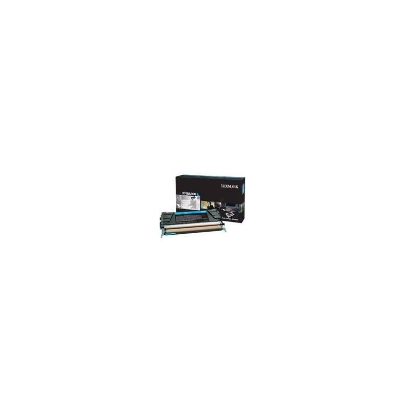 Lexmark kassett Sinine (X746A1CG) Return