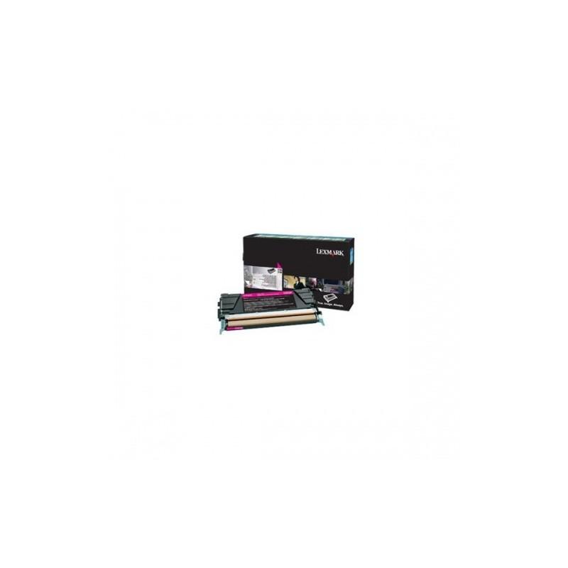Lexmark kassett Kollane (X746A1YG) Return