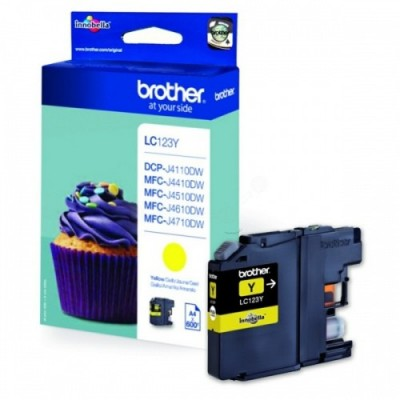 Brother Ink LC 123 Kollane (LC123Y)