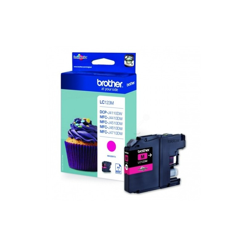 Brother Ink LC 123 Roosa (LC123M)