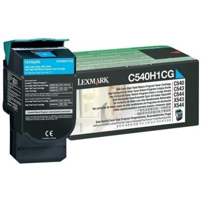 Lexmark kassett Sinine (C540H1CG) Return