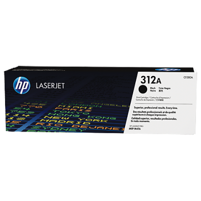 HP kassett No.312A Must (CF380A)
