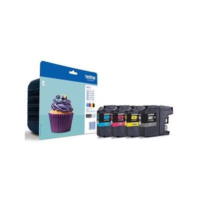 Brother Ink LC 123 Rainbow-Pack (LC123VALBPDR)