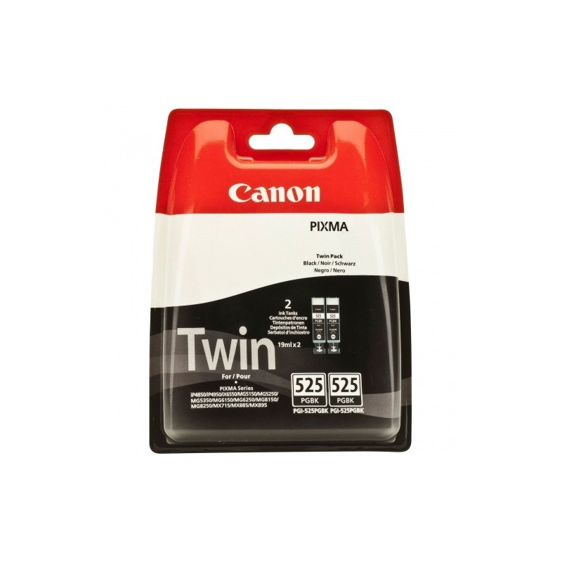 Canon Ink PGI-525 Must Twin Pack Blister (4529B010)