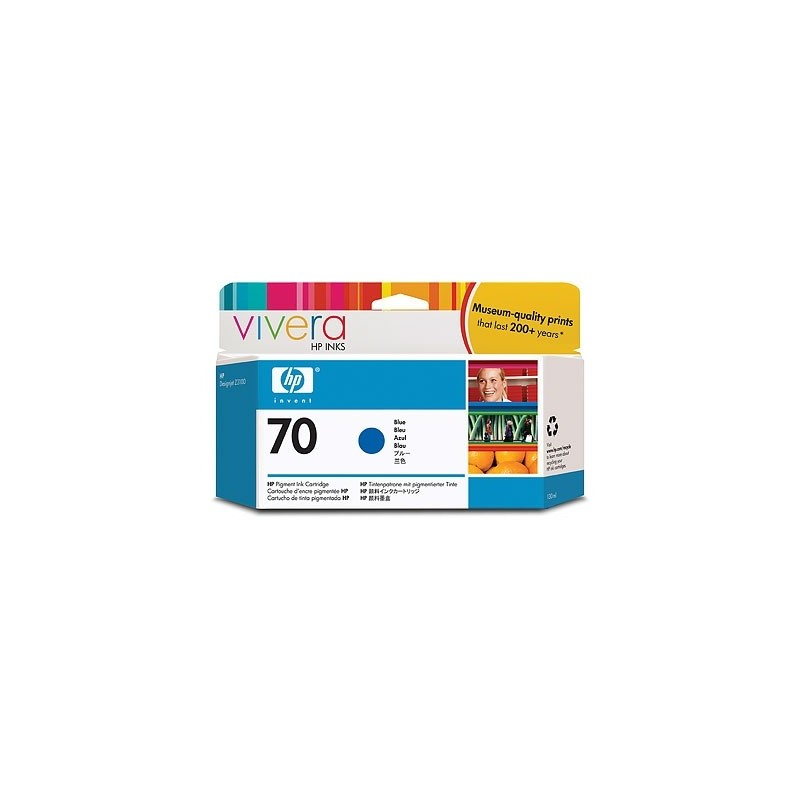 HP Ink No.70 Sinine (C9458A)