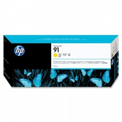 HP Ink No.91 Kollane (C9469A)