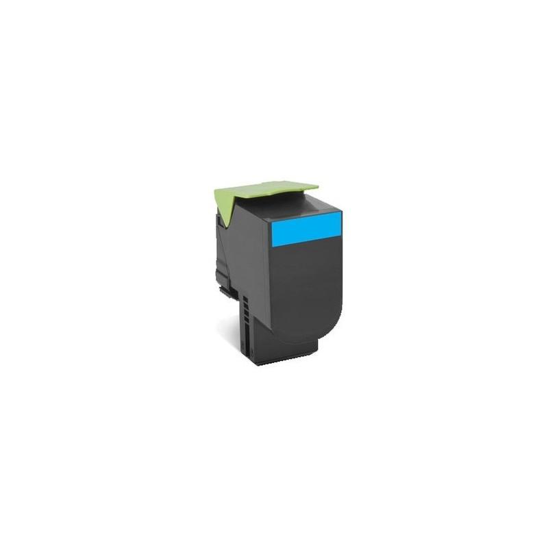 Lexmark kassett 802HC Sinine (80C2HC0) Return