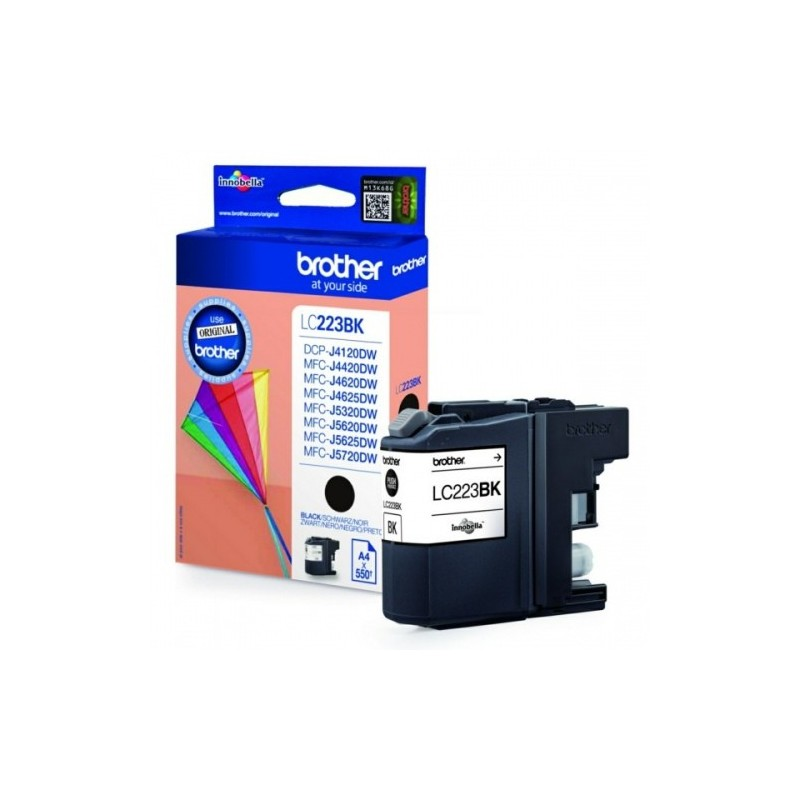 Brother Ink LC 223 Must 0,55k (LC223BK)