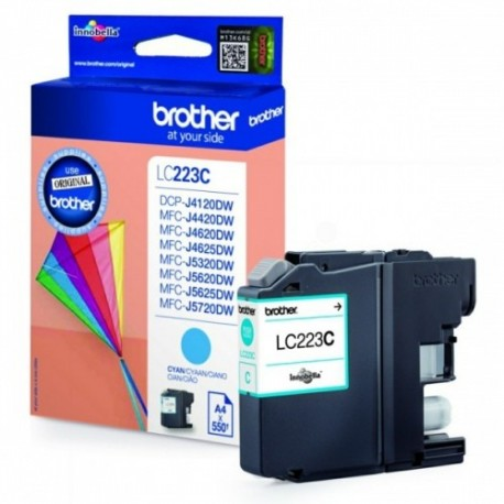 Brother Ink LC 223 Sinine 0,55k (LC223C)