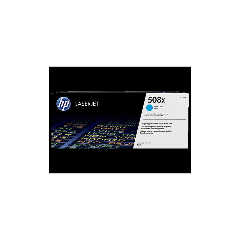 HP kassett No.508X Sinine HC (CF361X)