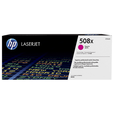 HP kassett No.508X Roosa HC (CF363X)