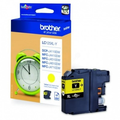 Brother Ink LC 125XL Kollane (LC125XLY)