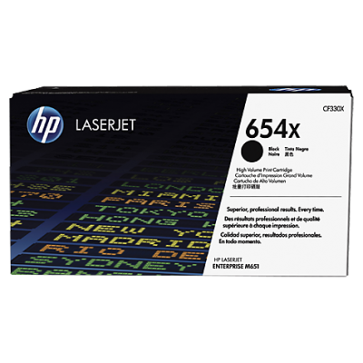 HP kassett No.654X Must (CF330X)