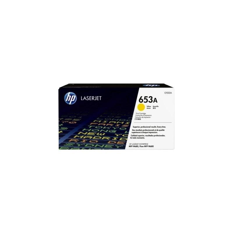 HP kassett No.653A Kollane (CF322A)