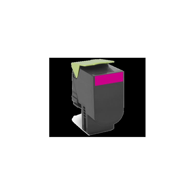Lexmark kassett 802HM Roosa (80C2HM0) Return