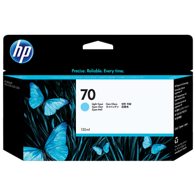HP Ink No.70 Light Sinine (C9390A)