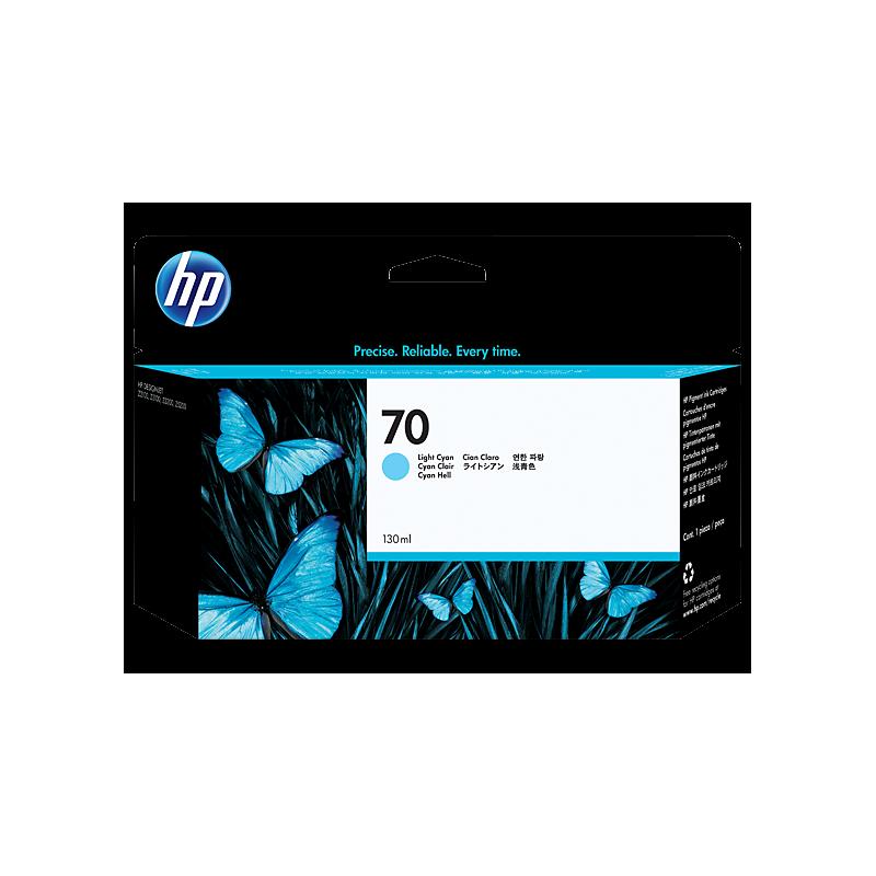 HP Ink No.70 Light Sinine (C9390A)