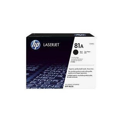 HP kassett No.81A Must (CF281A)