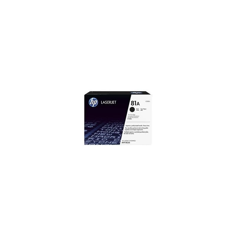 HP kassett No.81A Must (CF281A)