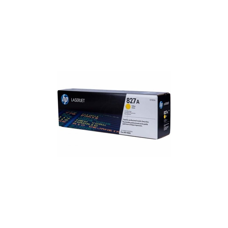 HP kassett No.827A Kollane (CF302A)