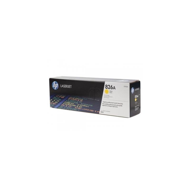 HP kassett No.826A Kollane (CF312A)