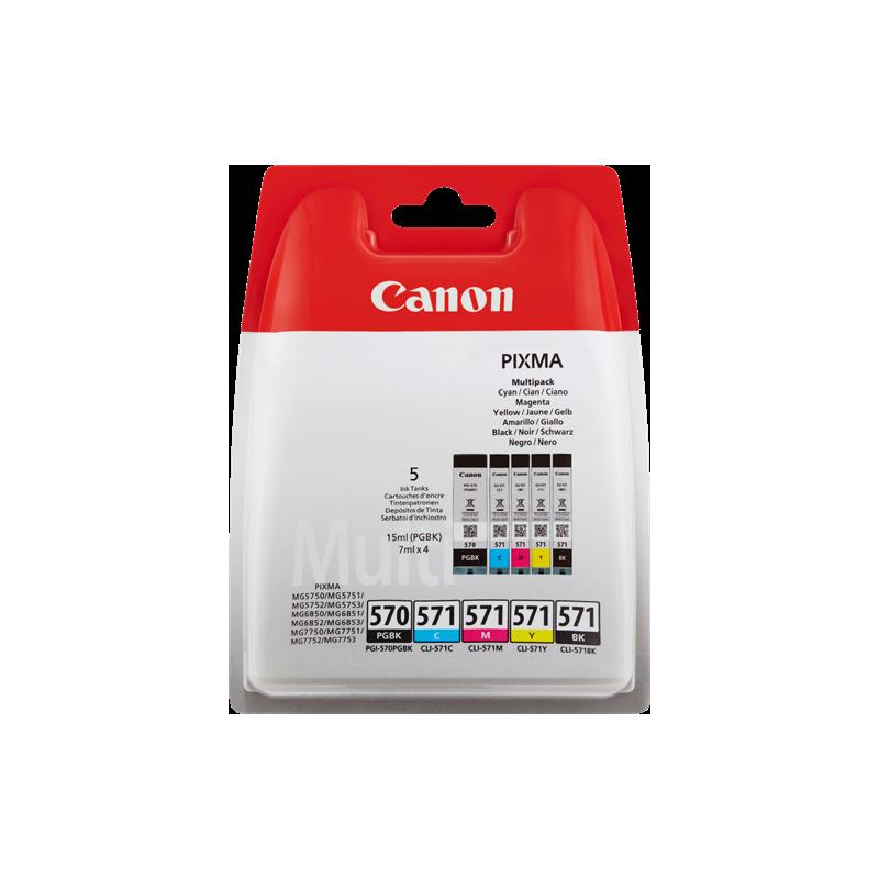 Canon Ink PGI-570/CLI-571 Multipack (0372C004)