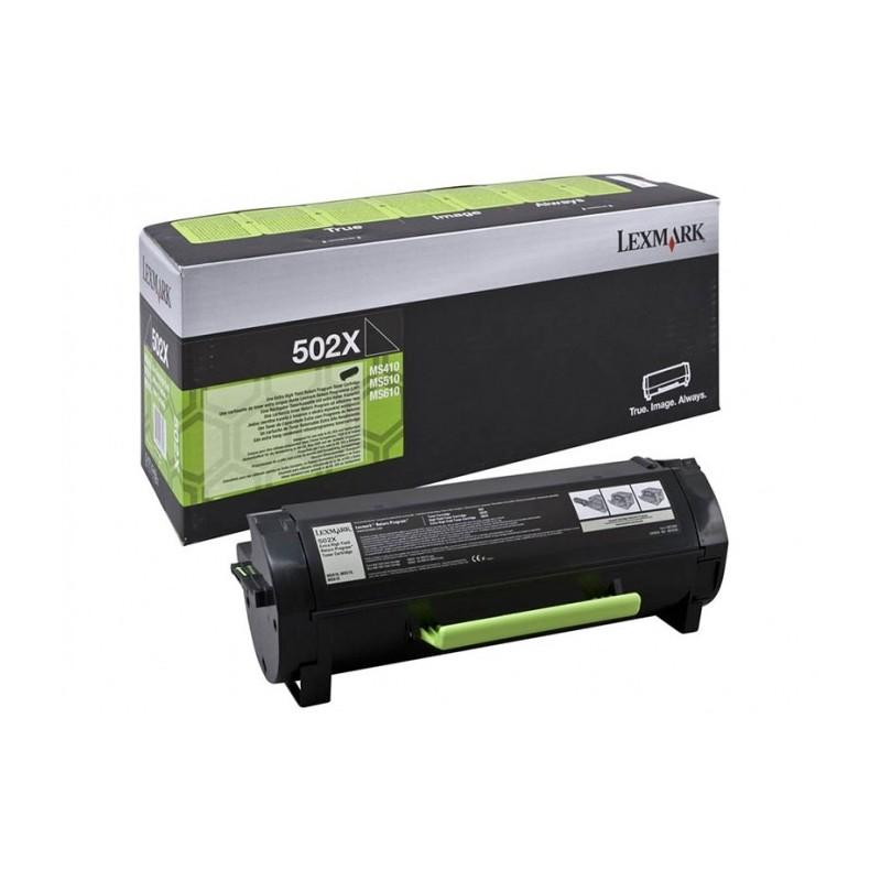 Lexmark kassett 502XE Must (50F2X0E)