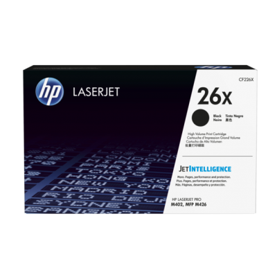 HP kassett No.26X Must (CF226X)