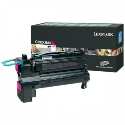 Lexmark kassett Roosa (C792X1MG) Return